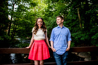 Nadine and Ben - Bronxville engagement